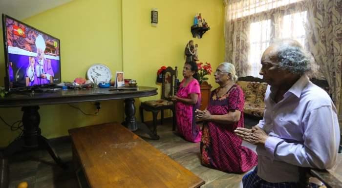 Католическая семья Шри-Ланки