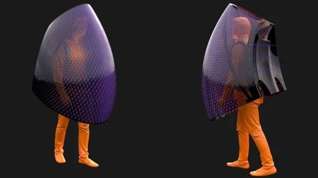 Китайский архитектор создал самонагревающуюся броню