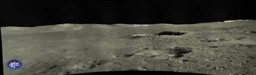 Панорамный снимок с Yutu 2 в лунный день 12.