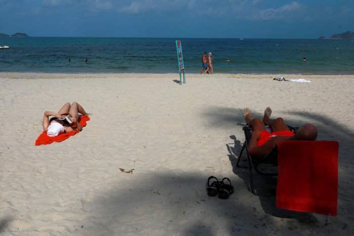 Пляж в Пхукете, Таиланд,