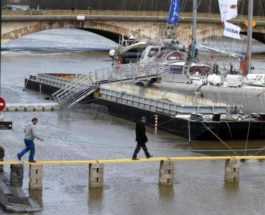 Сена,Париж,наводнение