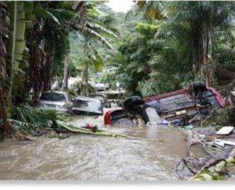 Сильный дождь вызвал смертельные наводнения и оползни