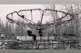 Тиль Линдеманн покатался на карусели в Чернобыле