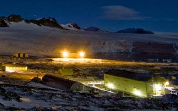 база в антарктиде