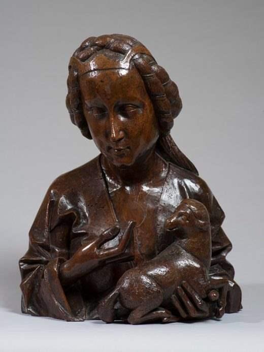 бюст,15 век,Англия