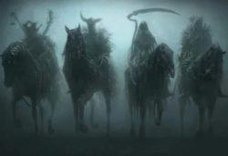Люди со всего мира видят в коронавирусе четырех зловещих всадников Апокалипсиса
