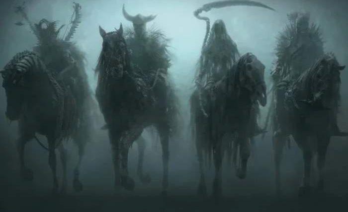 всадники апокалипсиса,Армагеддон,Конец Света,коронавирус