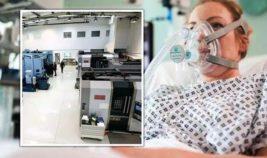 дыхательный аппарат для больных COVID-19