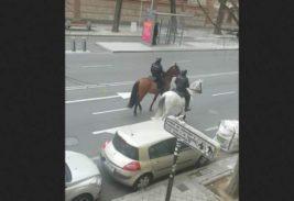 испания конная полиция