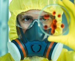 коронавирус в костюме