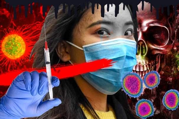 коронавирус девушка