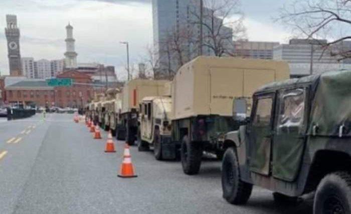 нью-йорк военная техника