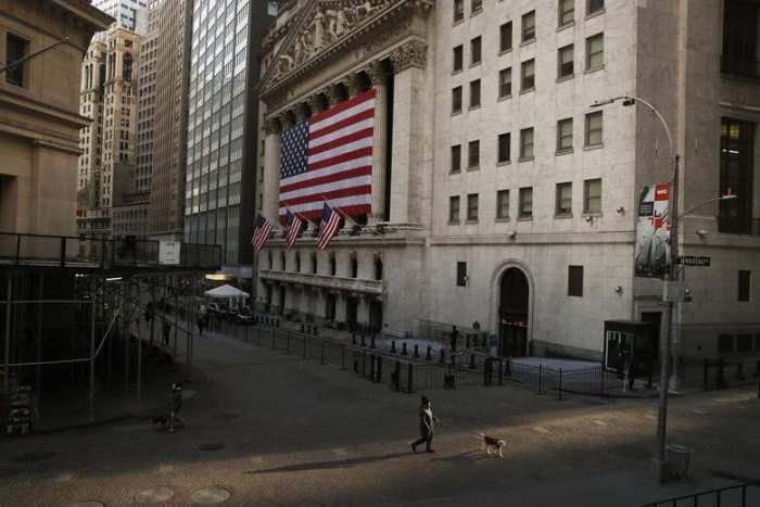 перед Нью-Йоркской фондовой биржей