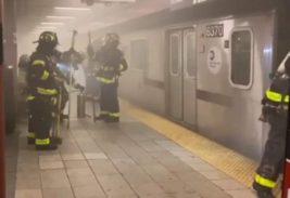 пожар в метро