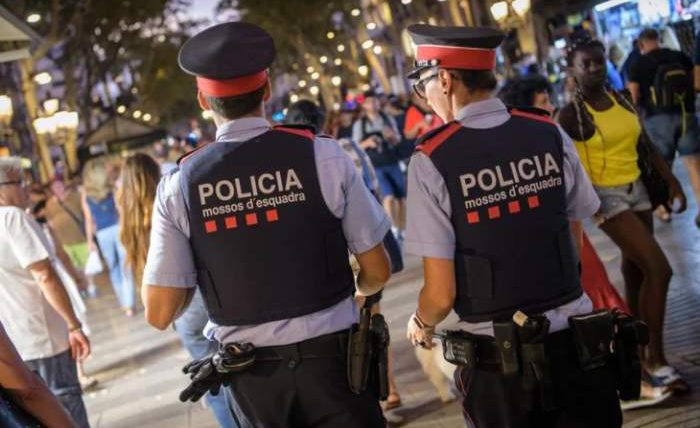 полиция испания