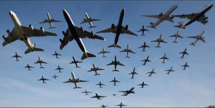 пустые самолеты