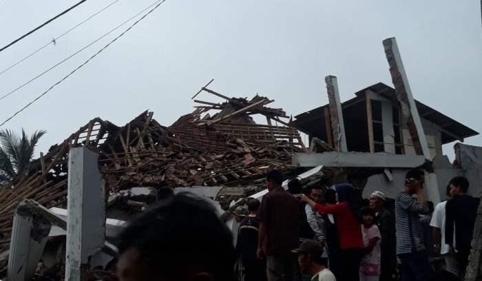 разрушительное землетрясение