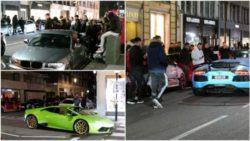 Пустые улицы Лондона наводнили стритрейсеры на суперкарах
