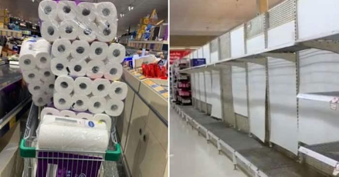 туалетная бумага коронавирус