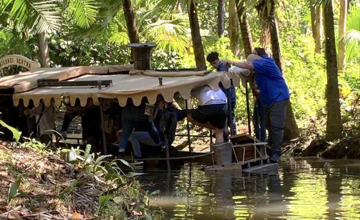 Jungle Cruise Boat Nearly Sunk At Walt Disney World