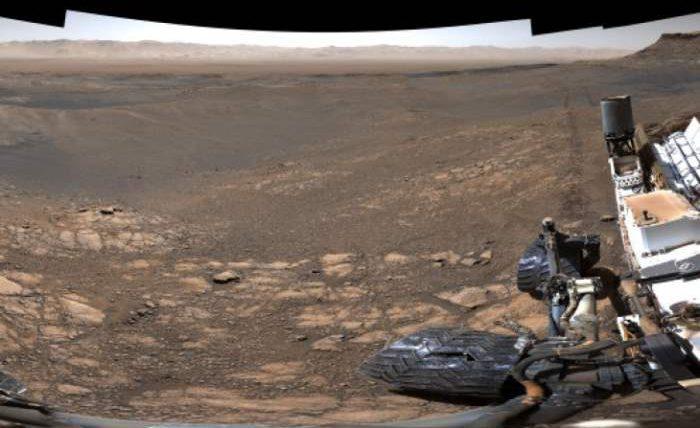 NASA, Curiosity,Марс,изображение