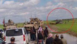 Войска США заблокировали российский военный конвой в Сирии