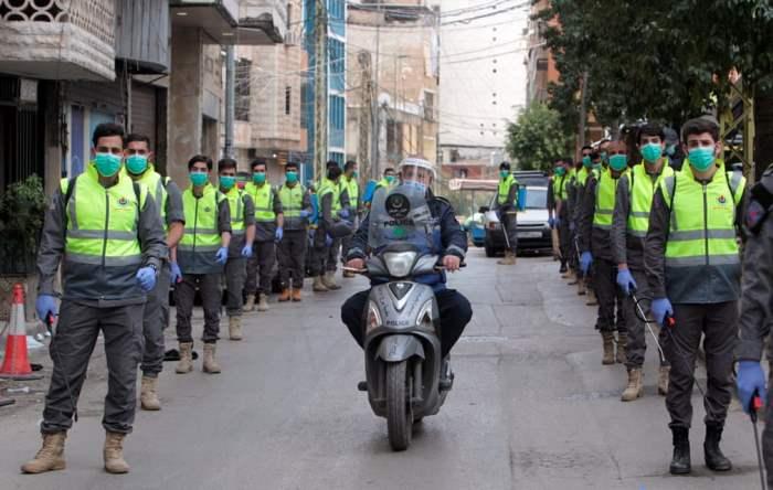 Волонтеры из исламского подразделения здравоохранения Хезболлы