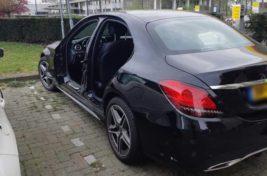 Воры украли 4 двери Mercedes-Benz