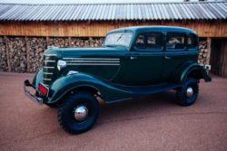 Коллекция советских ретро-автомобилей ГАЗ была продана за 2,6 миллиона долларов