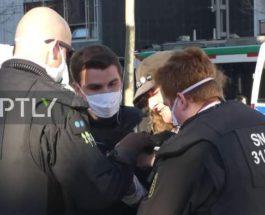Немецкая полиция разогнала крайне правый протест