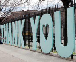 буквы с благодарностью