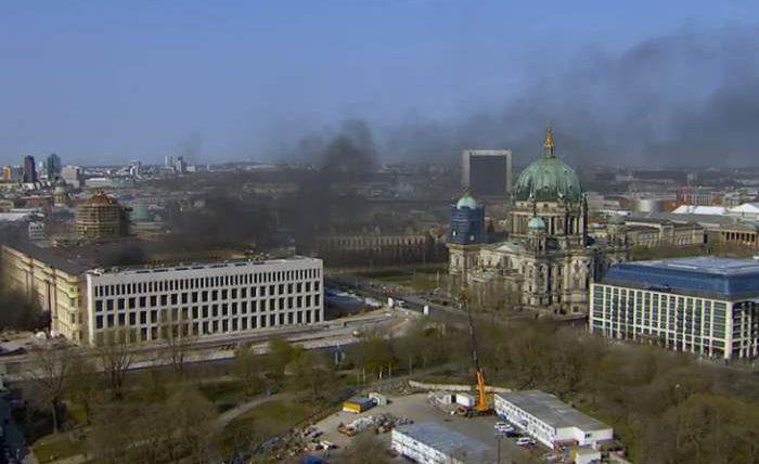 взрыв берлин