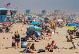 калифорния пляжи