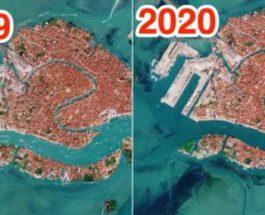 лодки венеция