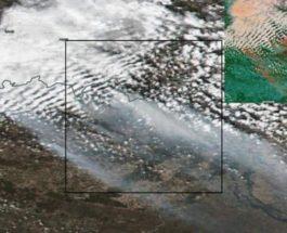 Чернобыльские спутниковые снимки