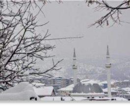 снег албания