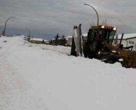 снег канада