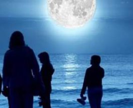 суперлуна,небо,Луна