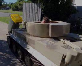 танк мусор коронавирус