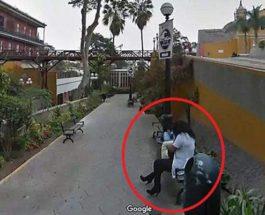 увидел свою жену на Google Maps