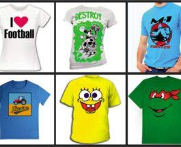 футболки печать