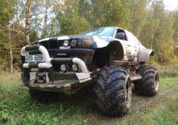 В России умелец скрестил BMW 7-й серии и ГАЗ 66, назвав детище Valkyrie 766