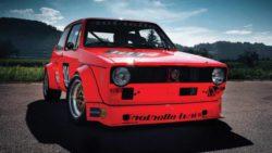 Первый в мире гоночный Volkswagen Golf выставлен на аукцион
