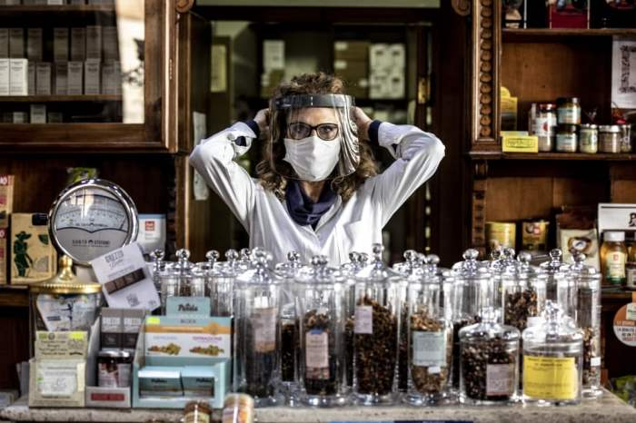 Ассунта, владелец магазина трав Il Germoglio