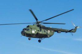 Военный вертолет Ми-8