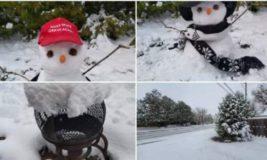 В США и Канаду вернулась зима