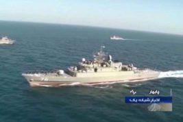 Иранский фрегат