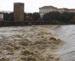 Милан,Италия,наводнение
