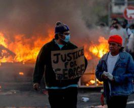 Миннеаполис протесты