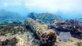 Остатки 200-летнего корабля